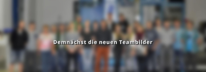 Demnächst neue Teambilder